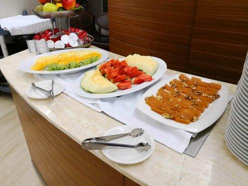 Buffet del hotel