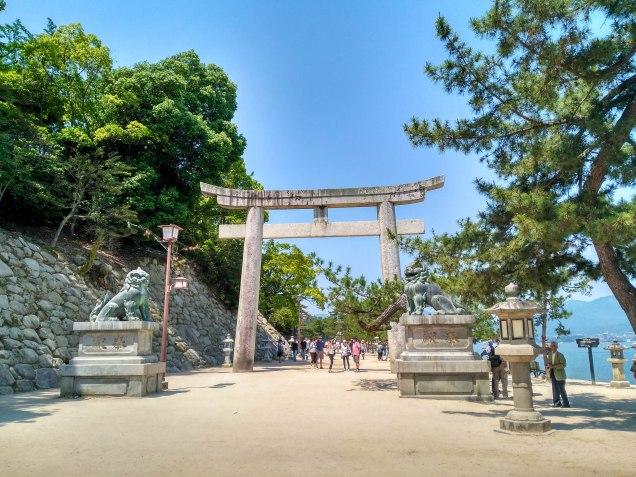 Indicaciones para llegar al Torii