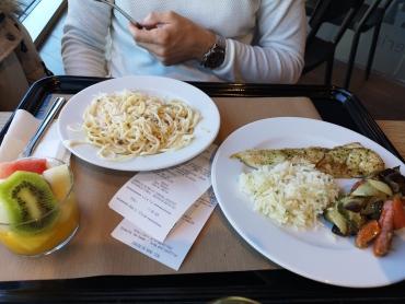 Comida en La Pausa